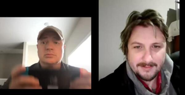 Брендан Фрейзер рубился в приставку на видеовстрече с фанатом. Теперь геймеры пытаются угадать игру