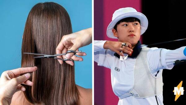 Пользовательницы твиттера стригут волосы в поддержку олимпийской чемпионки Ан Сан
