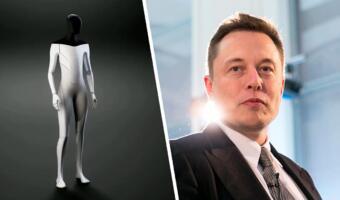 Илон Маск сделает Tesla Bot медленным и добрым. Во время бунта хозяин убежит или попросит пощады