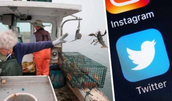 Рыбачка в 101 год так мощно бросила омара в море, что отобрала Мьёльнир у Тора на пикчах мемоделов