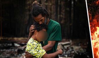 Семья нонконформистов три года жила в горах, но лесной пожар разрушил их дом