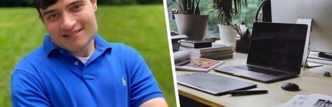 Парень с инвалидностью от синдрома Q22 нашёл работу и принял тысячи поздравлений