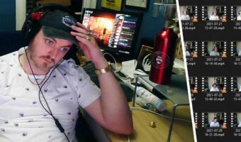 Веб-камера записала 682 Гб видео журналиста, пока он работал