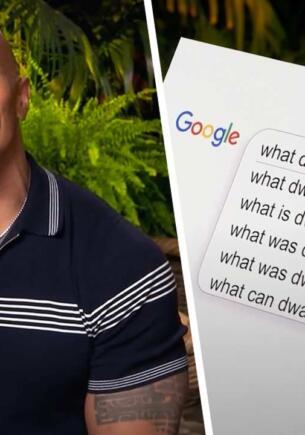 Дуэйн Джонсон объяснил, что у него не хватает кубиков пресса из-за удаления грыжи
