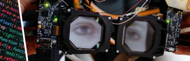 Компания Facebook представила VR-шлем с дисплеями, показывающими глаза пользователя
