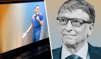 Билл Гейтс любит грубые шутки о себе. Лучшее доказательство — его реакция на резкое выступление комика