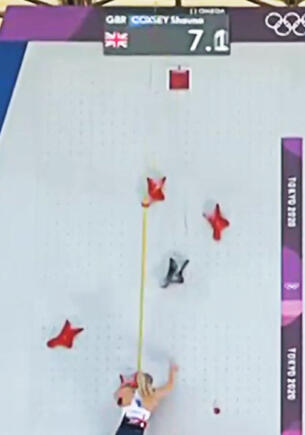 Российская скалолазка на Олимпиаде в Токио сорвалась с трассы на финише и заплакала