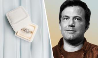 Бен Аффлек попал на фото, выбирая помолвочное кольцо. Если оно не для Джей Ло, у актёра проблемы