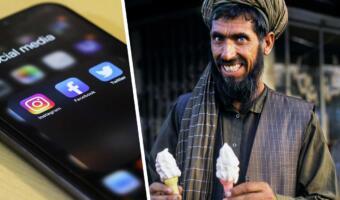 Талиб с мороженым из мема оказался не талибом. Афганец с фото купил свой десерт ещё в 2002 году