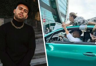 Блогер Сергей Косенко привязал девушку к крыше Bentley и прокатился по Москве