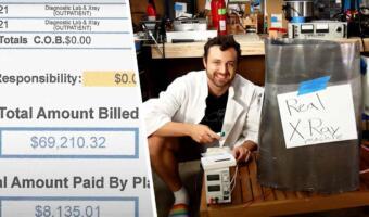 Блогер полечился на $ 70 тысяч и решил построить свой аппарат для рентгена. Он из банок, но работает