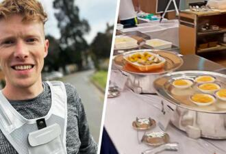 Участник Олимпиады показал на видео «полусырую» еду, которой кормят спортсменов