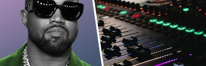 Канье Уэст перед выходом альбома Donda запустил трансляцию из своей комнаты на стадионе
