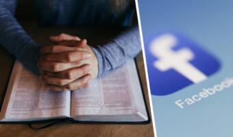 Фейсбук запустил опцию «помолиться» для обращений к богу и будет настраивать по ней рекламу