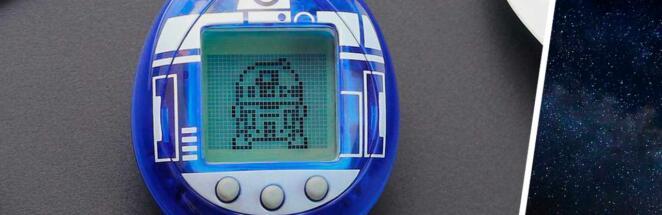 Disney и Bandai сделали дроида R2-D2 из «Звёздных войн» питомцем тамагочи
