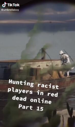 Игрок в RDR2 стал знаменитым из-за охоты на расистов