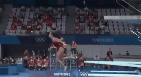 Канадская прыгунья получила редкую оценку 0,0 на Олимпиаде в Токио