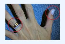 Кадры пятисекундного мытья рук показали, что грязь остаётся под украшениями и на запястьях
