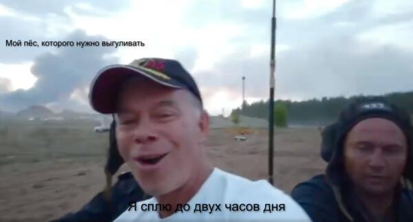 Олег Газманов едет на танке на фоне дыма от пожаров. Это не Россия будущего, а новый мем