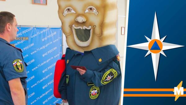 Спасатели приняли в МЧС Тульский Пряник, и снимки куклы стали шаблоном для мемов о психике