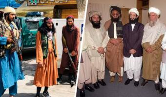 Бурка — женщинам, мужчинам — стиль. Пользователи твиттера нашли боевиков-модников на фото из Афганистана