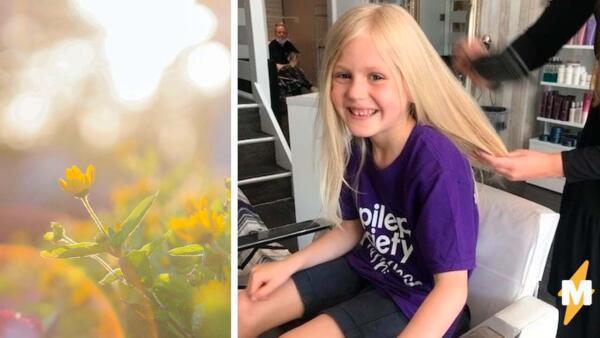 Семилетний мальчик отрастил волосы ради погибшего друга, и его стали называть девочкой