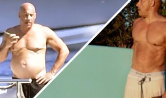 Вин Дизель с «папиным брюшком» на фото с отдыха напоминает всех нас. Бодипозитив и чилл на максимуме