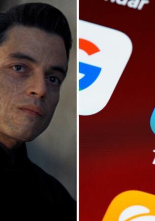 Пользователи Сети против увечий на лицах Рами Малека и Кристофа Вальца в новом «Джеймсе Бонде»