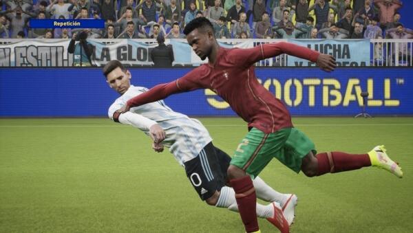 Пучеглазый Месси и пропадающие игроки. Симулятор футбола eFootball 2022 пугает пользователей своей графикой
