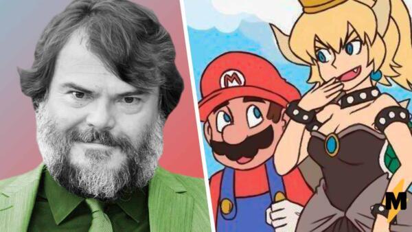 Джек Блэк примерил образ Боузэтты в фан-артах по игре Марио, и его декольте сложно развидеть