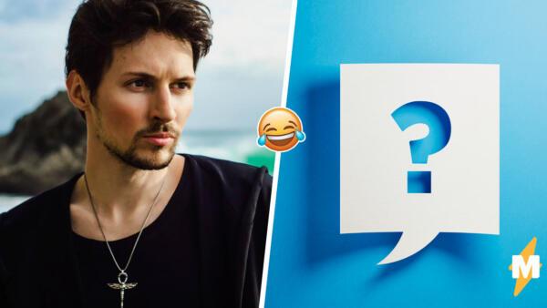 Опрос Павла Дурова запустил мемы о пустом выборе. Качать пресс или прекращение работы Telegram в России