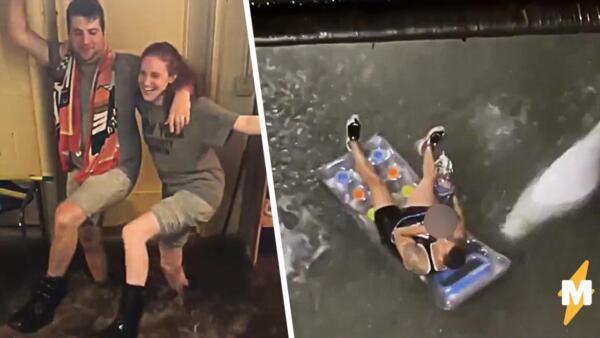 Как жители нью-йорка справляются с наводнением
