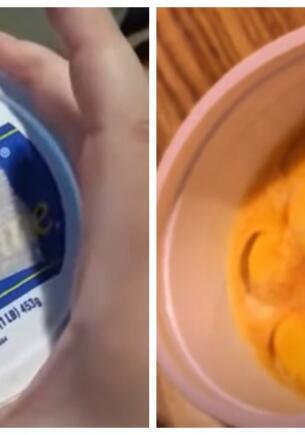 Как выглядят продукты после десятков лет в морозилке. Внучка нашла запасы бабули 40-летней давности