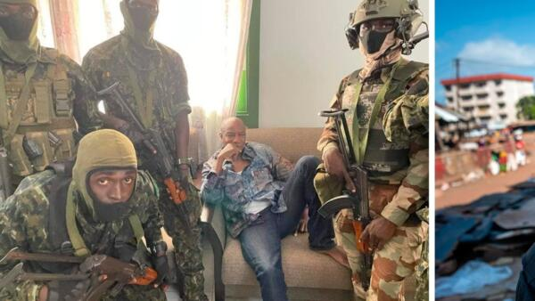 "Пока в стране хаос и переворот, фото президента Гвинеи выглядит как мем ""На расслабоне, на чиле"""