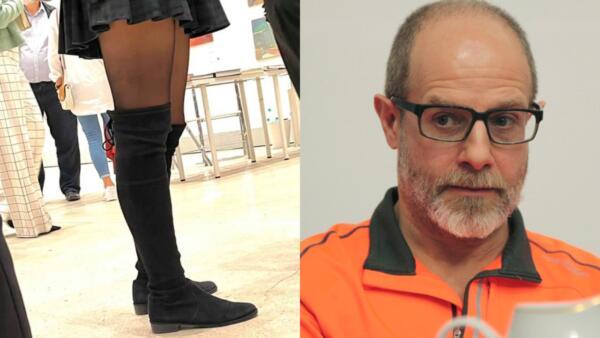 Девушки обвинили Дмитрия Гутова в харассменте. Художник (зря) снял голые женские ноги на Cosmoscow