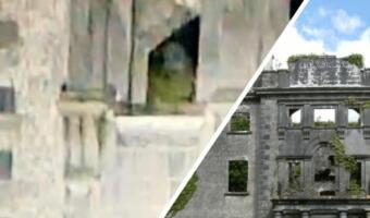 Кто прятался в заброшенной усадьбе? Очевидцы увидели «призрак» на снимке дома и говорят о духах