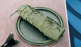 Таракан попал в слой краски и мемы. Фото замурованного жука напоминает «Мортал Комбат» и кик Брюса Ли