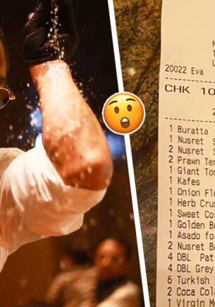 Поднебесные цены в ресторане повара-мема Нусрета Гёкче вернули кулинару хайп. Кола за 900 рублей