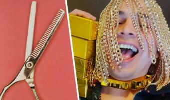 Царь Мидас из мира рэпа. Музыкант сменил волосы на золотые цепи, заткнув за пояс эпатажных коллег