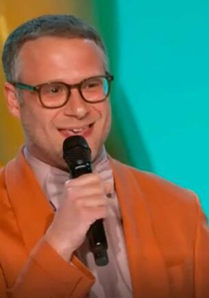 Сет Роген на «Эмми» поучал зрителей об антиковидных мерах и получил в Сети звание лицемера