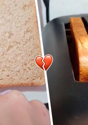 Обиженная жена показала, как оставить мужу грубое послание на тосте. Лайфхак для тех, кто в ссоре