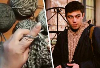 Растянутый свитер Данилы Багрова — не безвкусица, а тренд. Рукоделы пытаются заработать на моде 90-х