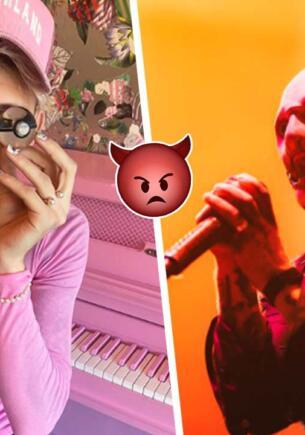 Армия фанатов Slipknot набросилась на соцсети Machine Gun Kelly. Так будет с каждым, кто не любит маски