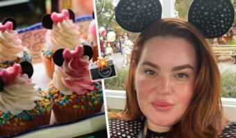 Плюс-сайз-модель Тесс Холлидей обиделась на СМИ за свои фото с едой. Показали снимок и стали фэтфобами?