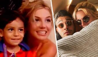 Мальчик из архивного видео с Бритни Спирс так похож на её жениха, что фанаты строят романтические теории