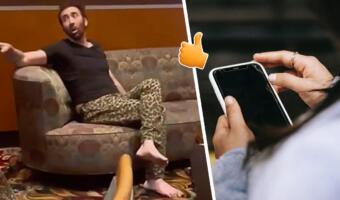 Пьяный Николас Кейдж, закативший скандал в ресторане, на видео выглядит как типичный отец из мема