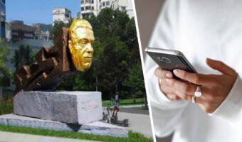 Мемоделы высмеивают памятник Иосифу Кобзону, похожий на монстров из DOOM II