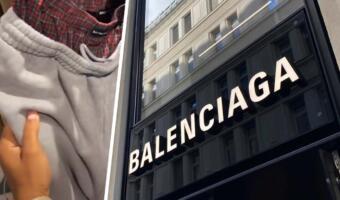 «Наряд бездомного» за мешок денег. Бренд Balenciaga высмеяли за дорогие штаны, совмещённые с бельём