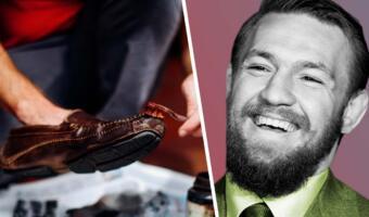 Конор Макгрегор зачем-то похвастал кадрами, как ему чистят обувь. Унижение ради лайков?