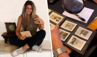 Девушка обнаружила фотоальбом 1927 года и сдала ДНК-тест. Незнакомцы со снимков ей теперь не чужие